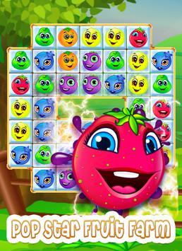Pop Star Fruit Farm apk screenshot