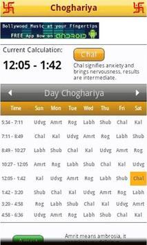 Choghadiya Free apk screenshot