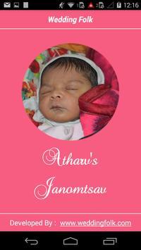 Atharv's Janmotsav poster
