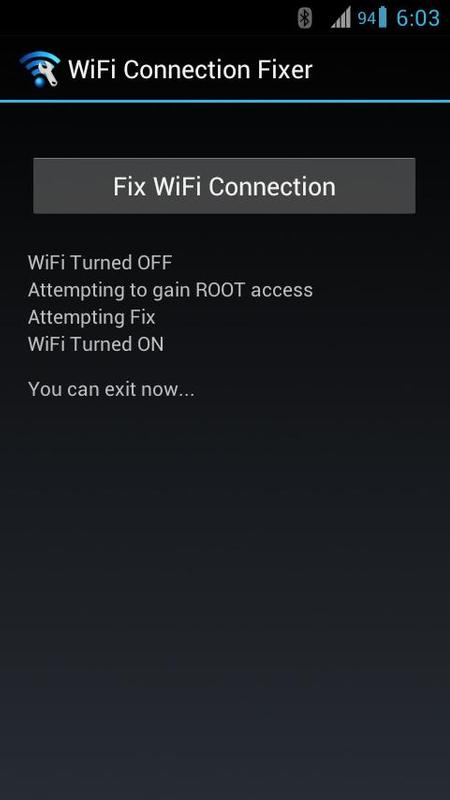 WiFi Connection Fixer *ROOT* APK Download - Free Tools APP ...