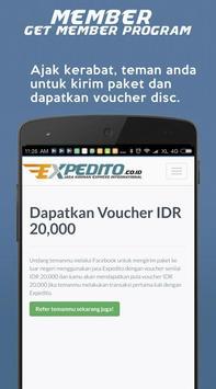 EXPEDITO kiriman express Intl screenshot 3