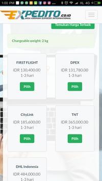 EXPEDITO kiriman express Intl screenshot 6