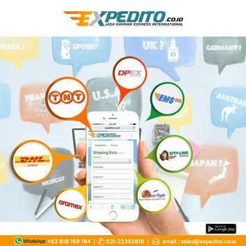 EXPEDITO kiriman express Intl screenshot 7