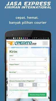 EXPEDITO kiriman express Intl screenshot 8
