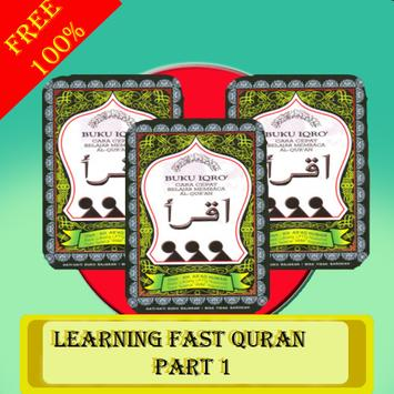 Learning Fast Quran Iqro Part 1 poster