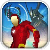 Iron Robo - Armored Justice Red Man icon