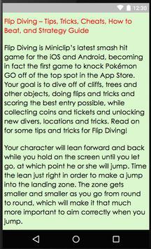 Guides of Flip Diving screenshot 3