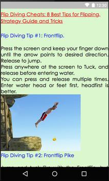 Guides of Flip Diving screenshot 1