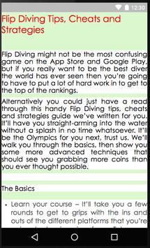 Guides of Flip Diving screenshot 2