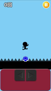 棒人間と亀-ひたすら亀を踏み続けるだけ- apk screenshot