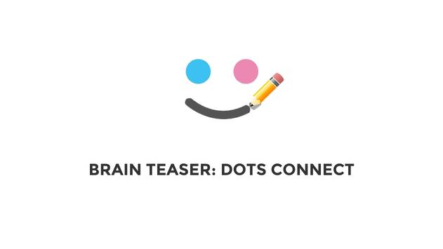 Brain teaser: connect dots - An Epic draw game poster