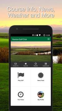 Nanton Golf poster