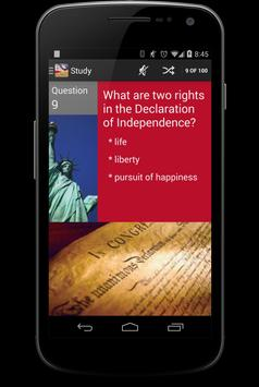 US Citizenship Test poster