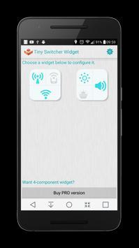 Tiny Switcher Widget screenshot 1
