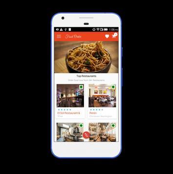 LS Food Ordering Customer screenshot 1