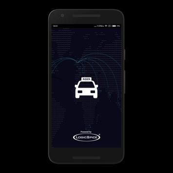 LS Customer Taxi App poster