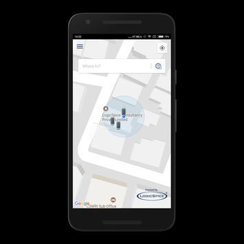 LS Customer Taxi App screenshot 2