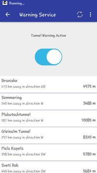 Tunnel Alarm apk screenshot