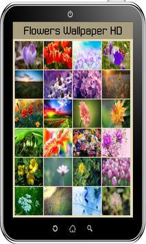 Flowers Wallpaper HD screenshot 16