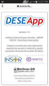 DeseApp poster