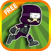 Ninja Jump and Run Game icon
