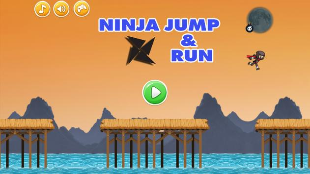 Ninja Jump and Run Game poster