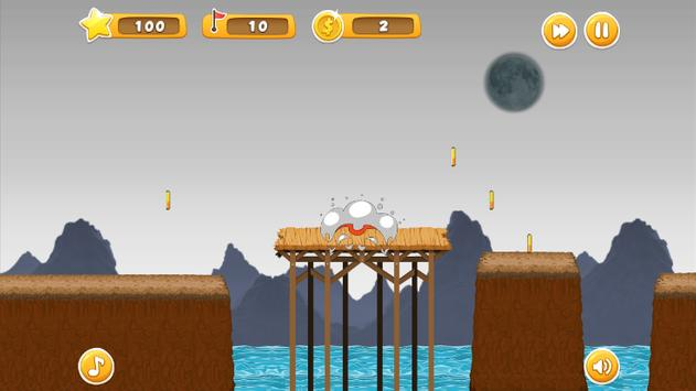 Ninja Jump and Run Game screenshot 2