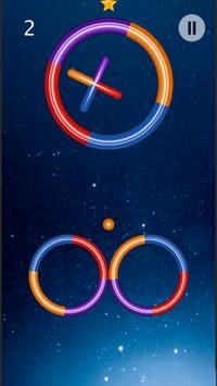 Space Rings - Color Switch 3D screenshot 1
