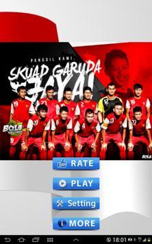 Sepakbola Indonesia poster