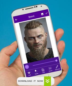 Man Face Editor Mustache & Beard screenshot 6