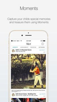 Merit App - Capture Your Child's Special Moments poster