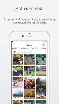 Merit App - Capture Your Child's Special Moments apk screenshot