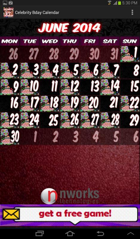 Jewish Celebrity Birthday Calendar - geni family tree
