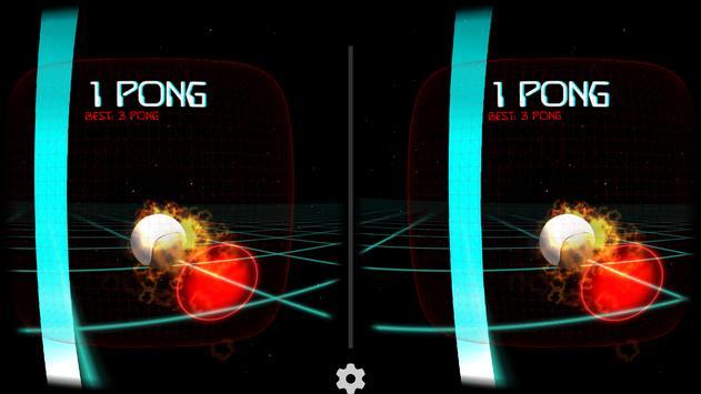 VR Pong poster