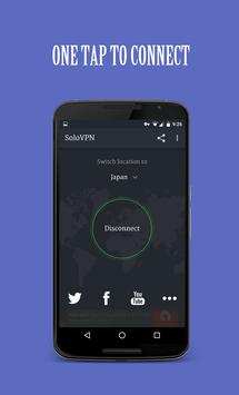 Solo VPN - One Tap Free Proxy poster