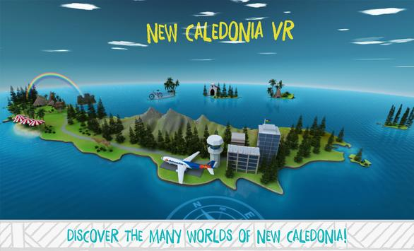 New Caledonia VR poster