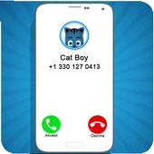 Calling PJ Cat Boy Mask icon