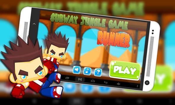 Subway Jungle Game Runner poster