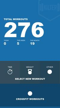 Kilter - Your Workout Tracker poster