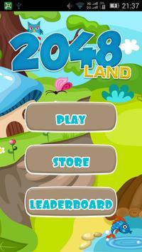 2048 Land poster