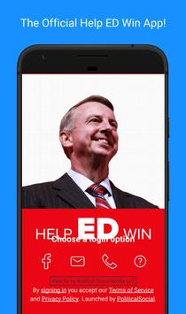 Help ED Win poster