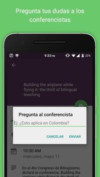 Congreso Bilingüismo screenshot 2