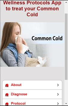 Common Cold Protocols poster