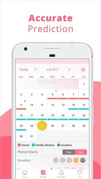 Period Calculator & Ovulation Calculator screenshot 2