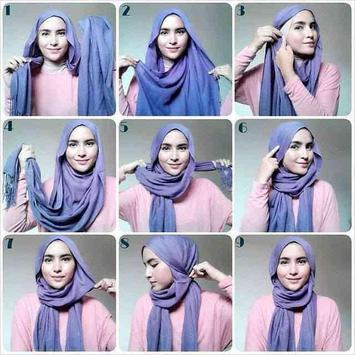 طريقة لف الحجاب بدون نت حصري screenshot 1