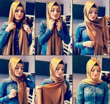 طريقة لف الحجاب بدون نت حصري screenshot 2