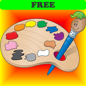 Coloring Book for Toddlers Coloring Games for Kids icon