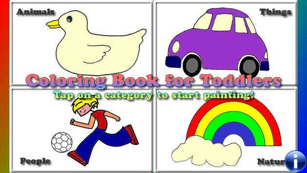 Coloring Book for Toddlers Coloring Games for Kids apk screenshot