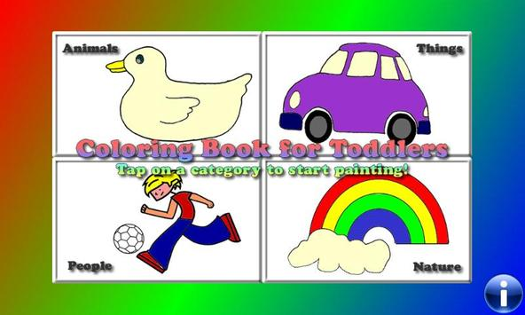 Coloring Book for Toddlers Coloring Games for Kids poster