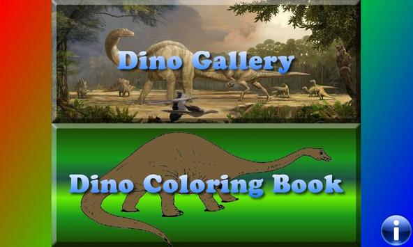 Dinosaurs for Toddlers FREE poster